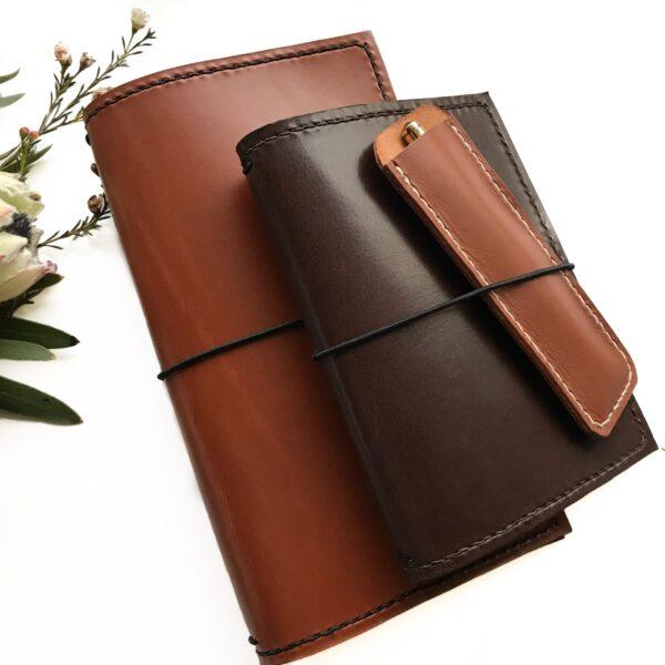 travelers notebook, standard travelers notebook, narrow travelers notebook, standard tn, tn, læderomslag til notesbøger, notesbog, planlægning, kalender