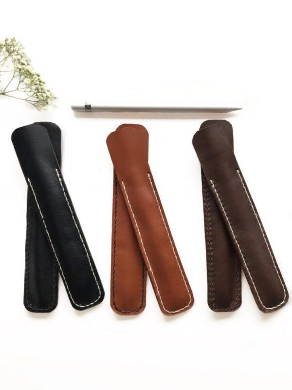Pen sleeve til Apple pencil, etui til apple pencil, etui til Apple pen, Apple pen, læder etui til Apple pen
