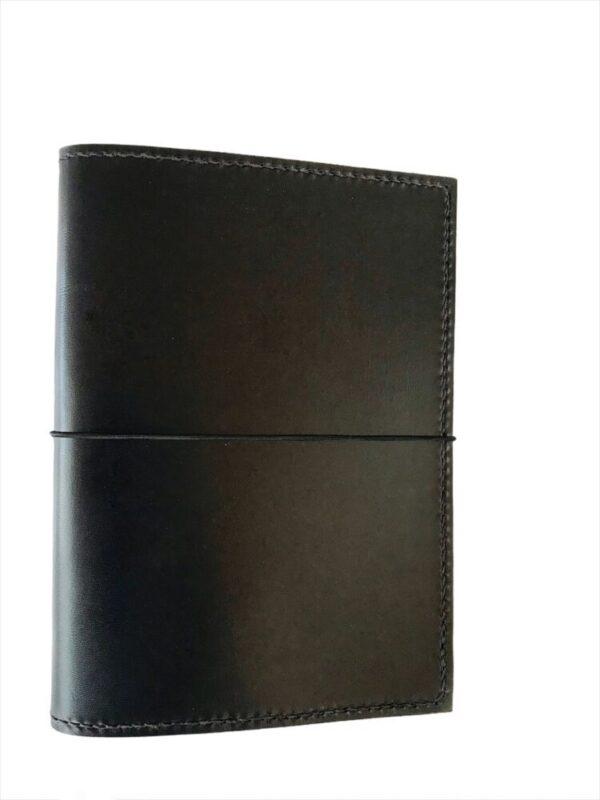 A5 folio, A5 læderfolio, læderomslag, omslag til bog, læderomslag, A5 notesbog, A5 gæstebog