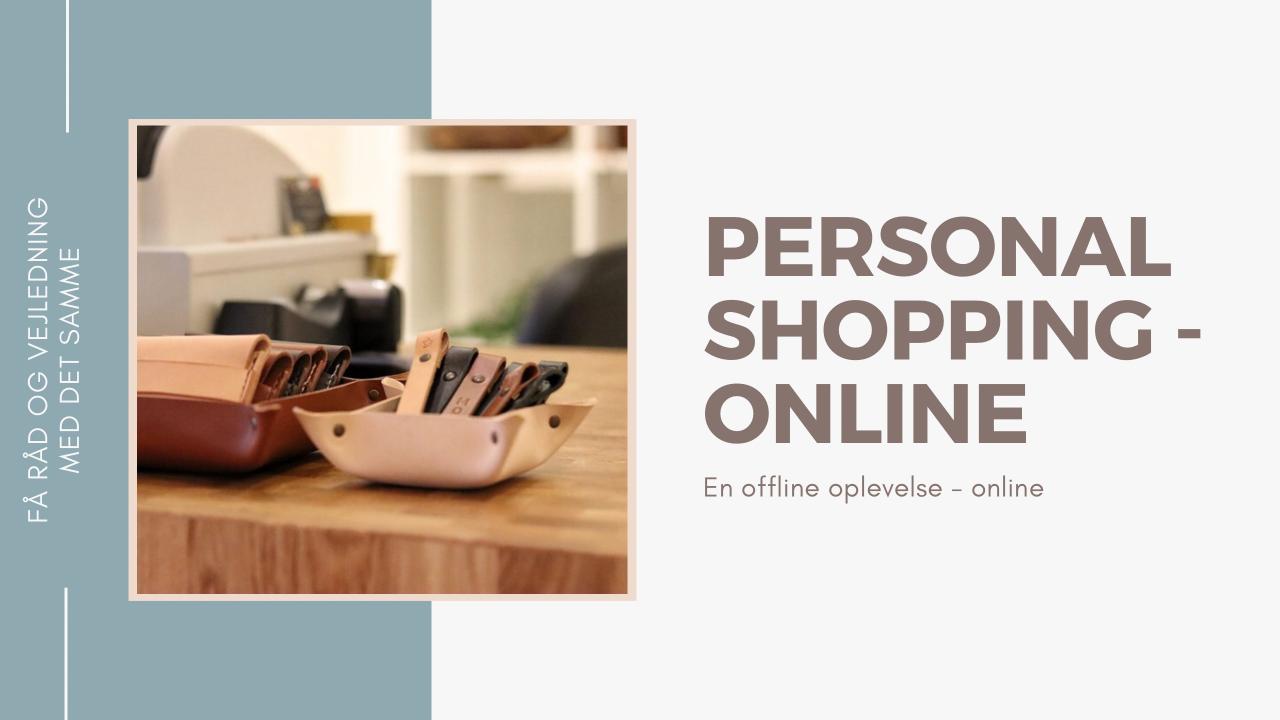personal shopping mini